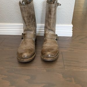 Frye Veronica Slouch Short Boot Size 7
